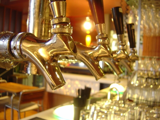 Beacon Technology on Beer Taps